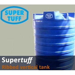 Storage Tank Vertical Ribbed Polyethylene